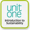 unit one — introduction to sustainability