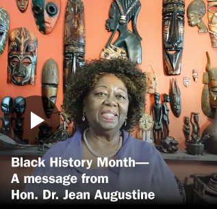 video still from Black History Month 2021 OSSTF/FEESO Dr.Jean Augustine Message video