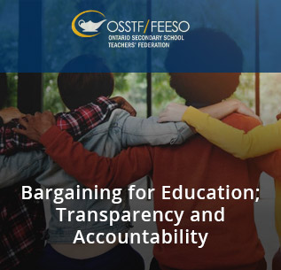 Bargaining for Education; Transparency & Accountability
