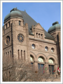 Ontario Legislature, Queen's Park, Toronto, ON