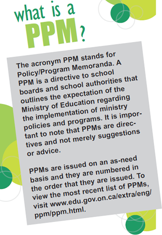 PPM 159 to change the way initiatives are implemented